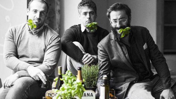 Die Betreiber: Daniele, Simone und Alessandro.