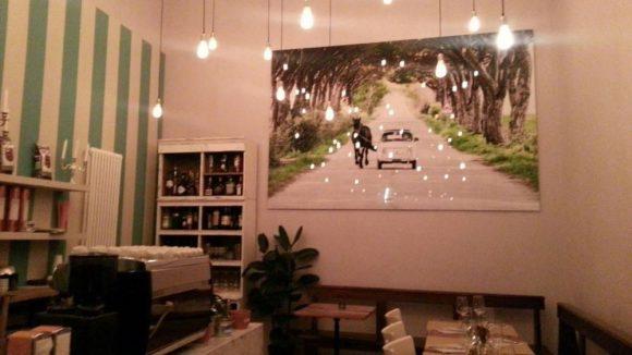 Die sehr ansprechende Café-Ecke.