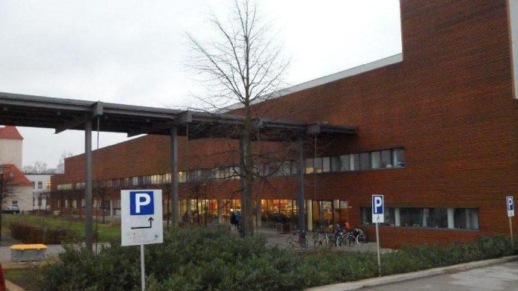 Die Parkplätze von Vitasport in Bohnsdorf