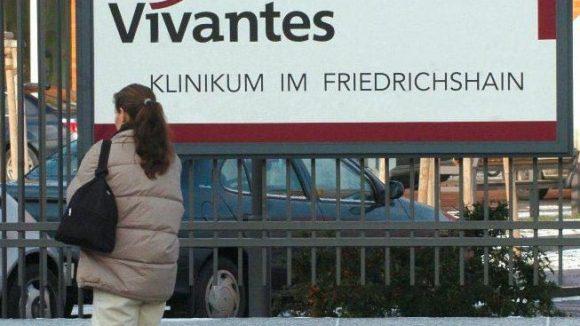 Das Vivantes-Klinikum im Friedrichshain.