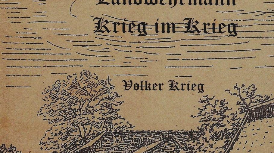 Volker Krieg hat über 400 Feldpostbriefe seiner Großeltern zusammengefasst.