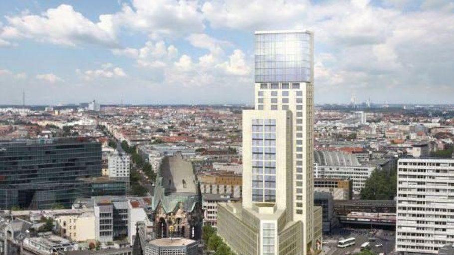 Außenansicht des neuen Waldorf Astoria - ein Zimmer kann hier ab September gebucht werden.