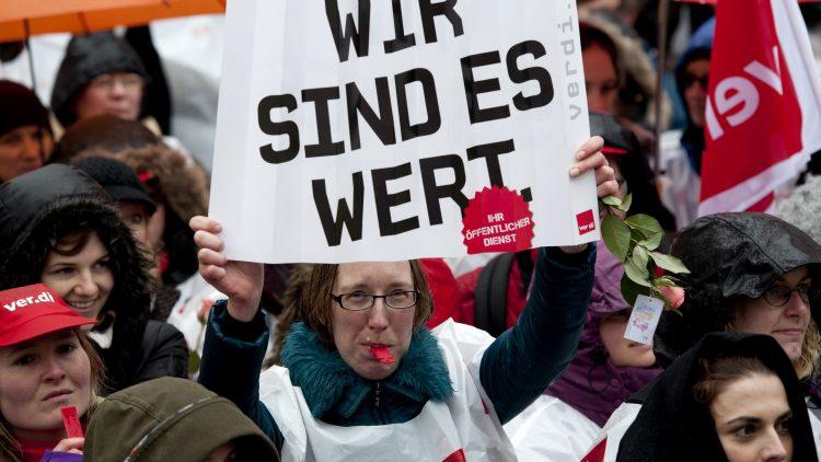 Ab Mittwoch werden in Berlin Krankenschwestern, Pfleger und die BSR streiken.
