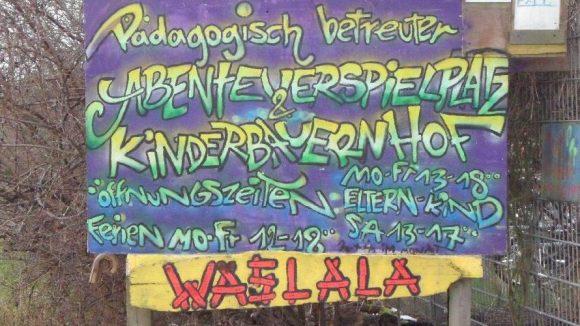 Mit Spaßgarantie: der Abenteuerspielplatz und Kinderbauernhof Waslala in Altglienicke