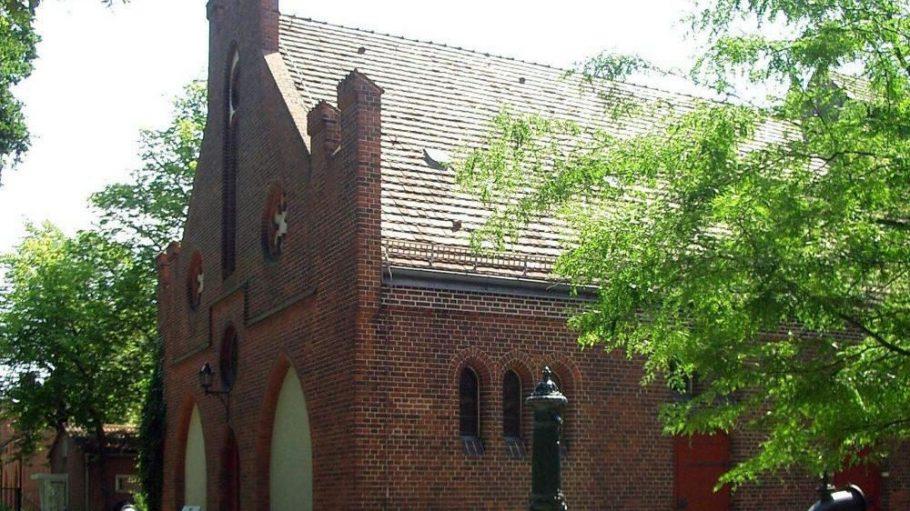 Ein Prachtbau im Stil der märkischen Backsteingotik: das Museum im Alten Wasserwerk Friedrichshagen.