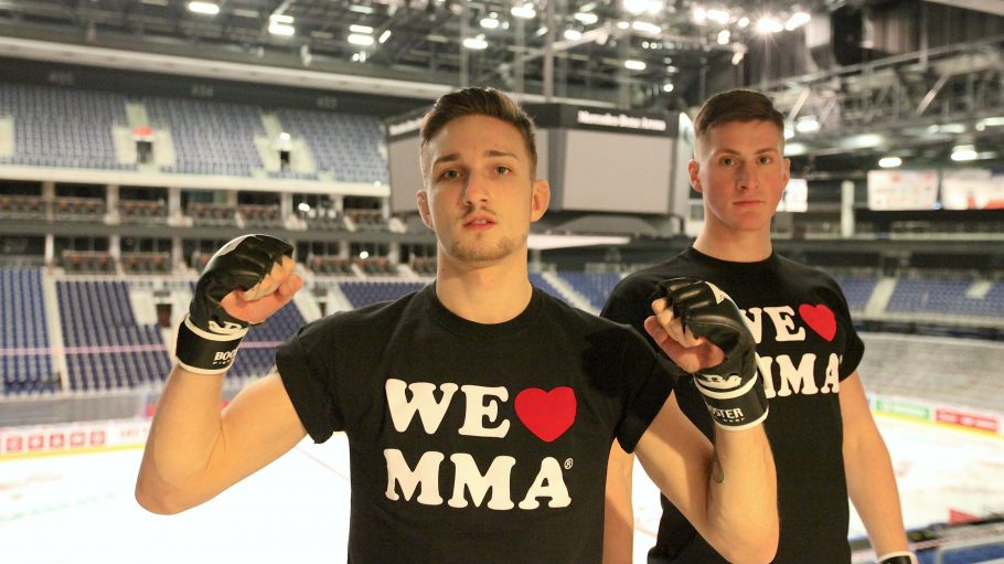 Paule Häcker und Eric Blaser sind zwei der Kämpfer, die Berlin in der We love MMA-Serie vertreten.