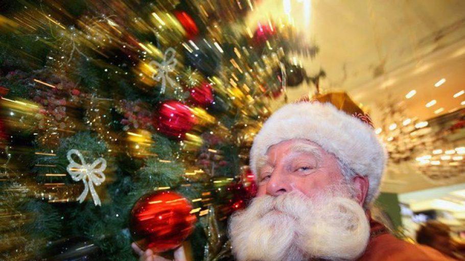 Jahrelang war Peter Georgi der Weihnachtsmann vom Dienst im KaDeWe.