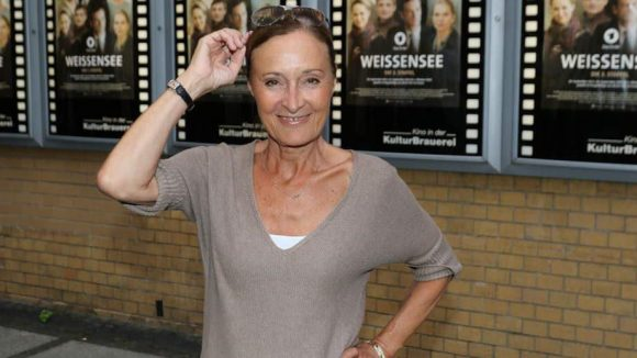 Schauspielerin Eleonore Weißgerber ließ sich die Premiere ebenfalls nicht entgehen.