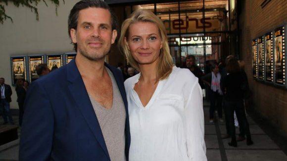 Steffen Groth spielte in den ersten beiden Folgen der Serie den Robert Schnyder. Neben ihm: seine Liebste, Ana Grosse Halbuer.