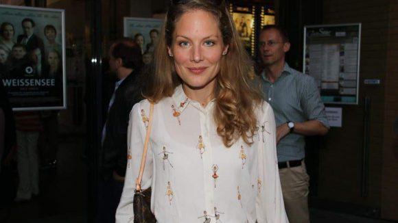 """... und Schauspielerin Tessa Mittelstaedt, ehemals Mitwirkende beim WDR-""""Tatort""""."""