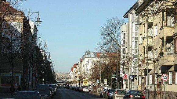 Blick in die Weitlingstraße in Lichtenberg