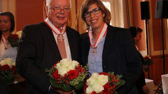 Natascha Keller wurde 1999 zur Welthockeyspielerin des Jahres erklärt und Wolf-Dieter Wolf ist Vizepräsident des Landessportbundes Berlin.