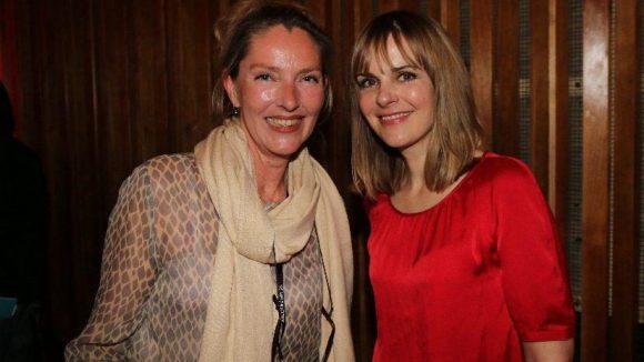 "Andrea Mathias von Viva Models (links) und Denise Zich (""GZSZ"", ""Rosamunde Pilcher"")."