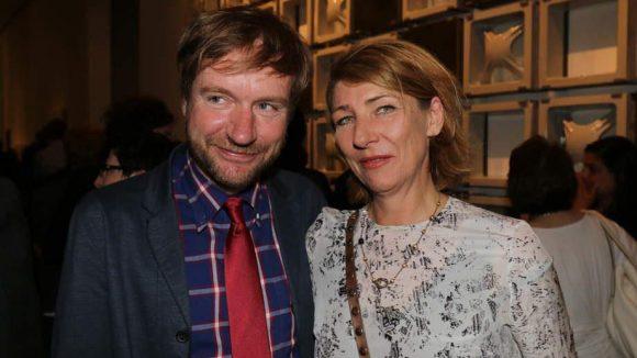 Kulturstaatssekretär Tim Renner mit seiner Frau Petra.
