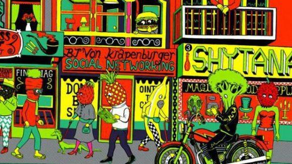 Will Sweeney ist ein Londoner Illustrator - er wird bei der Pictoplasma Conference im Babylon anwesend sein.