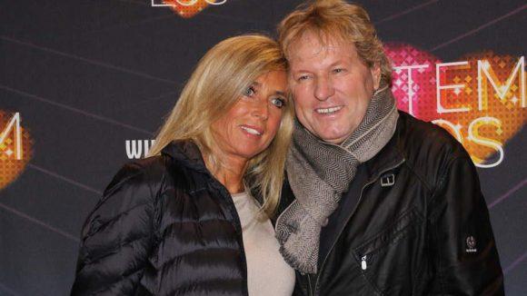 Ein echter Schlagerstar darf bei so einer Premiere natürlich auch nicht fehlen: Bernhard Brink kam mit seiner Frau Ute.