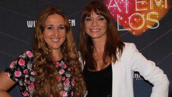 Diese beiden Damen können sprechen: Claudia Campos von Radio rs 2 (l.) und Moderatorin Jean Bork.