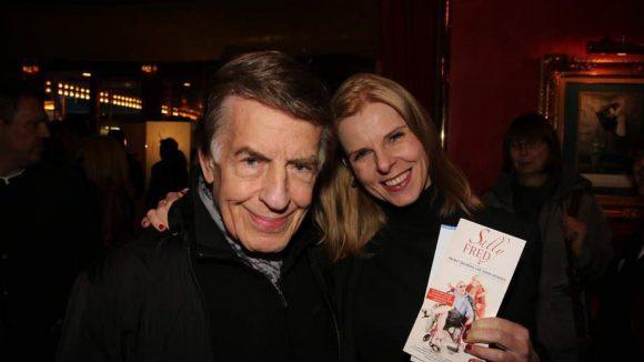 ... Jazzmusiker Rolf Kühn mit Frau Melanie ...