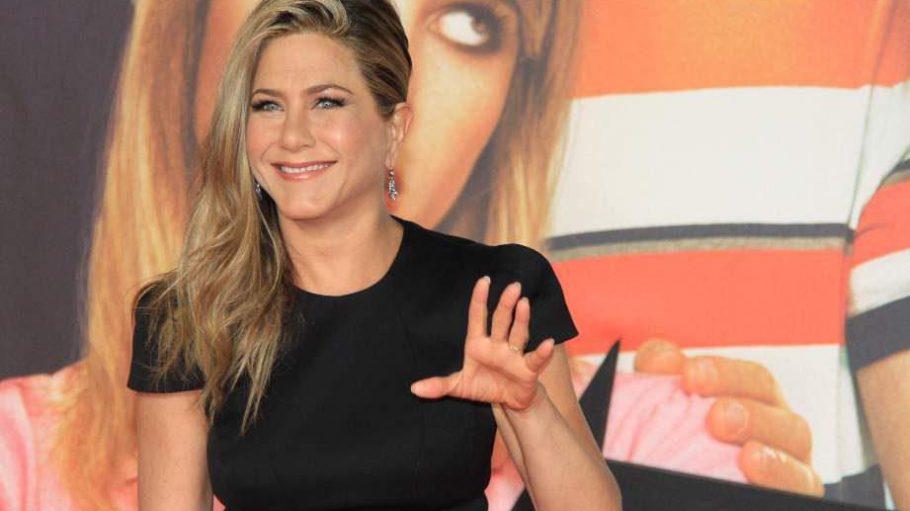 """Was möchte uns """"Wir sind die Millers""""-Hauptdarstellerin Jennifer Aniston hier mitteilen?"""