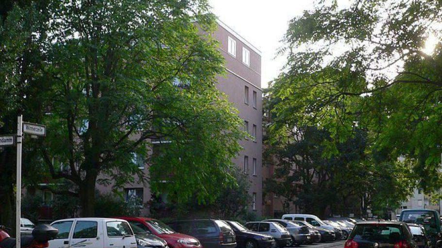Die Wirmerzeile in der Paul-Hertz-Siedlung. Alle Straßen im Viertel sind nach NS-Widerstandskämpfern benannt.