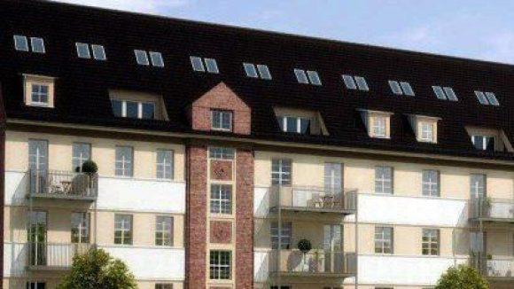 """In der """"Alten Post in Lichtenberg"""" entstehen neue Wohnungen."""