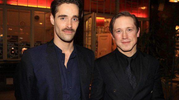 """... Schauspieler Wolfgang Menardi (ist mit dem Film """"La belle et la bête"""" auf der Berlinale dabei) und Regisseur Timo Jacobs (v.l.)."""