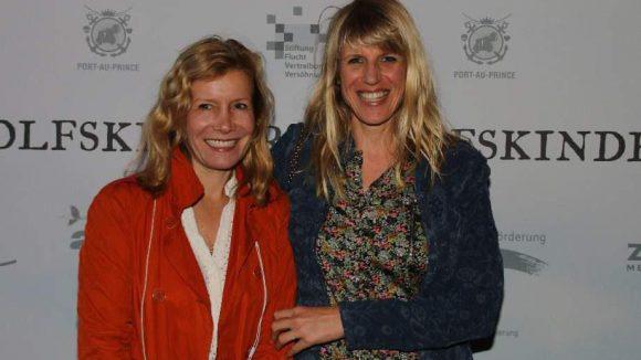 ... sowie die Kostümdesignerin Esther Walz (links) und Journalistin Antje Wewer.