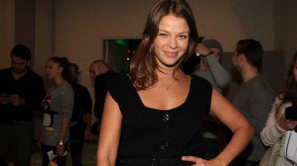 Mit ihr hatte Microsoft jemand aus der ersten Riege zu Gast: Schauspielerin Jessica Schwarz.