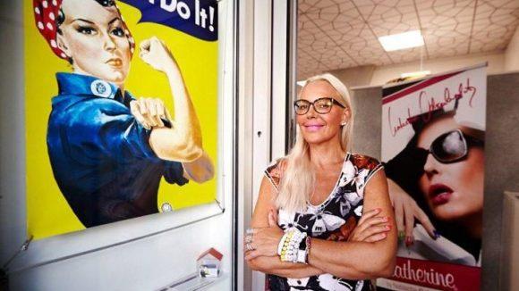 """""""Yes, she can!"""" Seit letzter Fashion Week ist Natascha stolze Ladenbesitzerin."""
