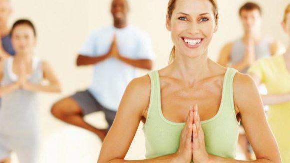 Namaste! Yoga stärkt Körper und Geist.