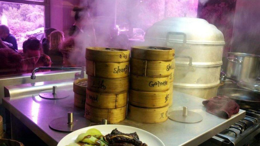 Yummy - die Dumplings können gedämpft oder gebraten bestellt werden.