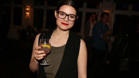 Singer-Songwriterin Femme Schmidt genoss die leckeren Drinks.