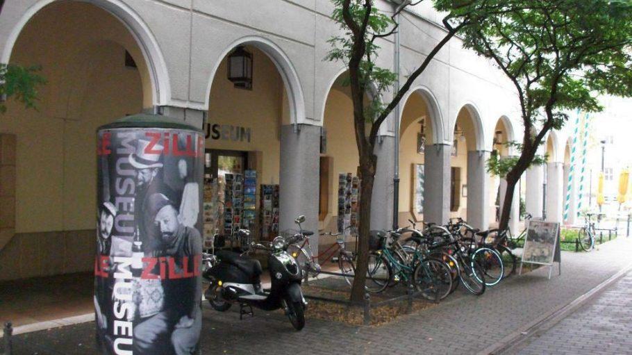 Das Zille Museum im Nikolaiviertel von außen.