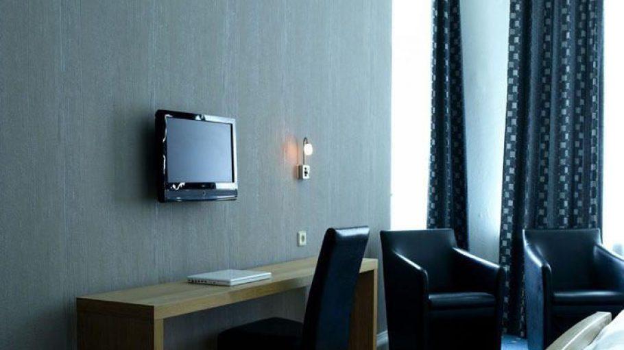 Ein Zimmer der Luxuskategorie im Hotel Kleist besticht durch Komfort und Stil.