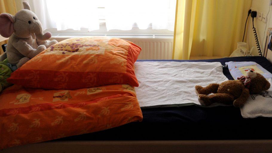 In den Zimmern des Sonnenhofs können die Familien mit ihren Kindern ungestört Zeit verbringen.