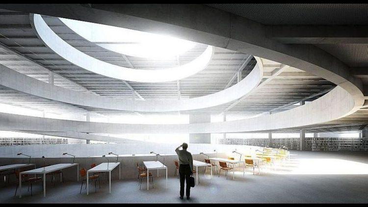 Diesen Entwurf von Miebach Oberholzer Architekten würdigte die Jury für seine Industriearchitektur, die die Stimmung des Flughafenhangars aufnimmt und viele Möglichkeiten für die kreative Inbesitznahme durch die Nutzer bietet.
