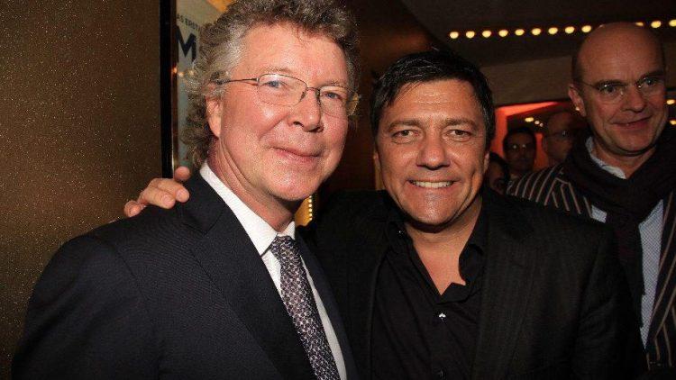 Gastgeber Hans-Joachim Flebbe (l.) und Sven Sturm (CEO Paramount Deutschland).