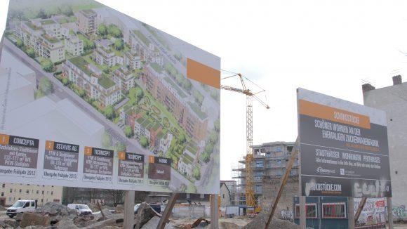 Gneau geplant: 70 Wohnungen sind auf dem Gelände entstanden.