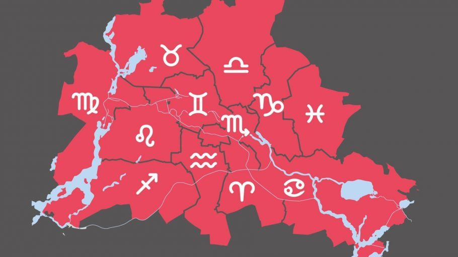 Für Berlin stehen die Sterne nicht immer günstig, aber zum Glück hat jeder Bezirk sein eigenes Horoskop!