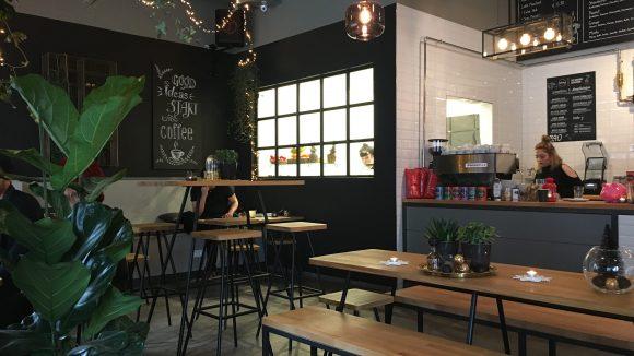 Die Potsdamer Straße kann sich über ein neues Café freuen: das Urban Supply.