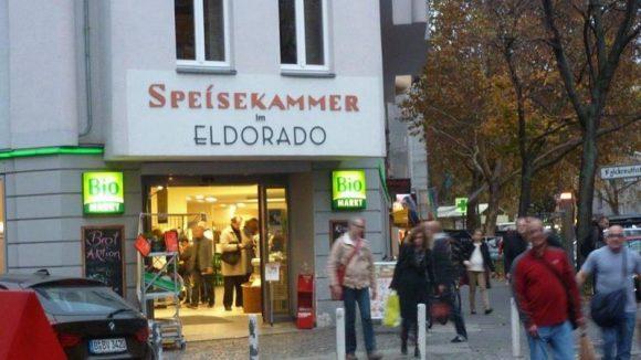 Früher Transen-Club, heute Bio-Supermarkt: Das Eldorado in der Motzstraße.