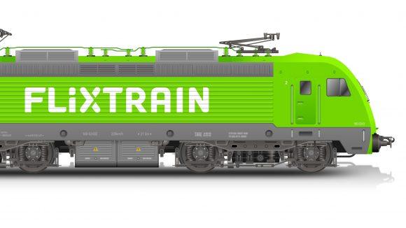 Genauso knallig wie der Bus: Mit dem FlixTrain kannst du bald noch günstiger Zug fahren.