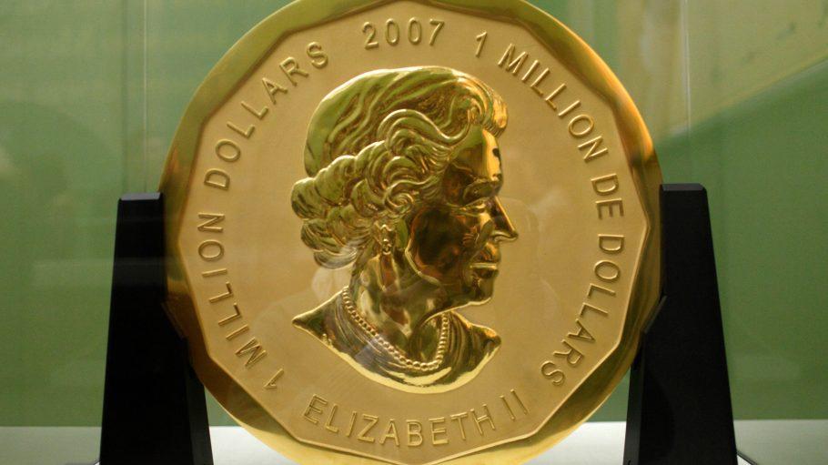 """Der Raub der 100 Kilogramm schweren Goldmünze """"Big Maple Leaf """" aus dem Bode-Museum gehört mit Sicherheit zu den verrücktesten Momenten des Jahres 2017."""