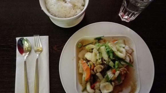 Gesund, chinesisch und lecker: auch vegetarisch hat das East einiges zu bieten.