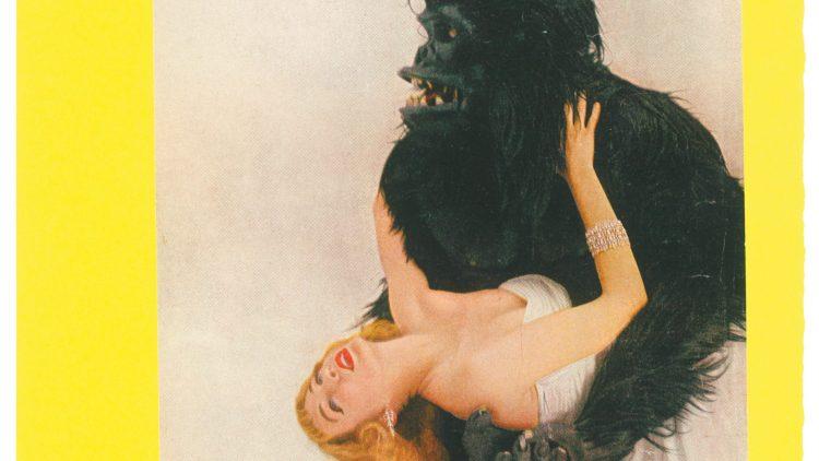Die Pop Art-Ausstellung Eduardo Paolozzis ist voller Bilder, die Spaß machen: Hier rettet der Vogue-Gorilla gerade Miss Harper.