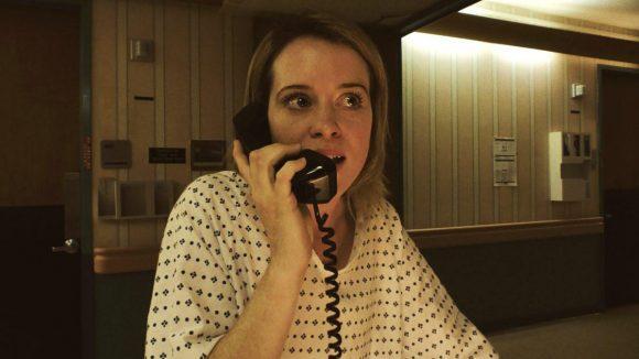 Claire Foy ist aus der Netflix-Serie The Crown bekannt und spielt die Hauptrolle Sawyer Valentini in Steven Soderberghs Unsane.