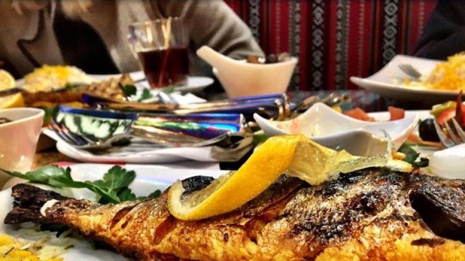 Gegrillter Fisch: nur eine der Spezialitäten im Fanous in Steglitz.