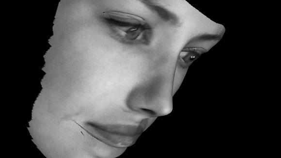 Kunst aus Überwachungstechniken: Ein System für Gesichtserkennung kann einzelne Personen in der Masse erkennen.