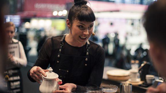 Im Februar dieses Jahres gewann Nicole die deutschen Kaffeemeisterschaften in Bremen.