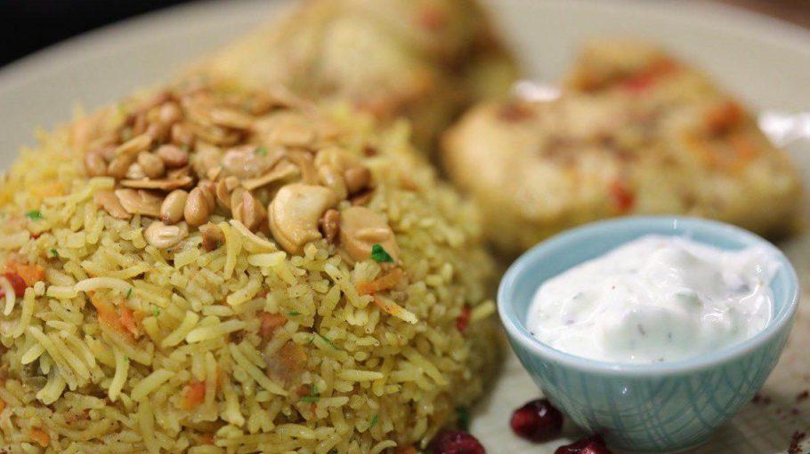 Die syrische Küche im Kreuzberger Himmel ist vielfältig und raffiniert und besteht aus vielen Reisgerichten.
